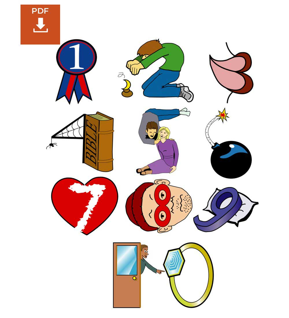 Diez Mandamientos Para Niños Descarga