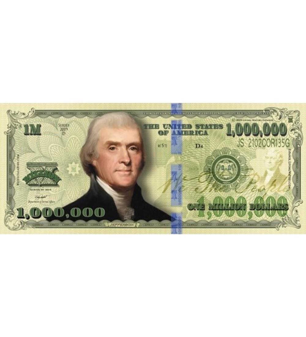 Billete De Un Millón De Dólares