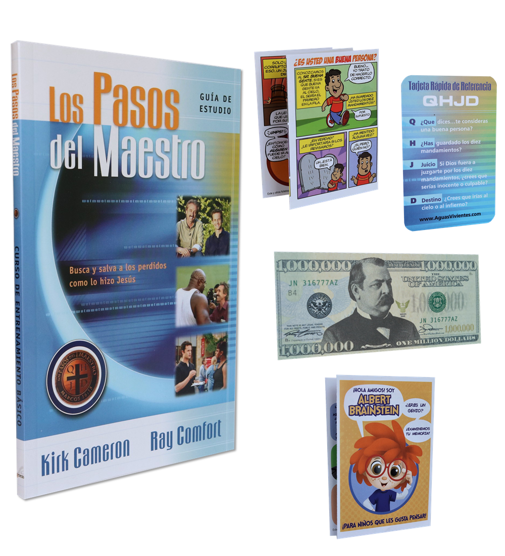 Kit De Estudiante Del Curso De Evangelismo Básico