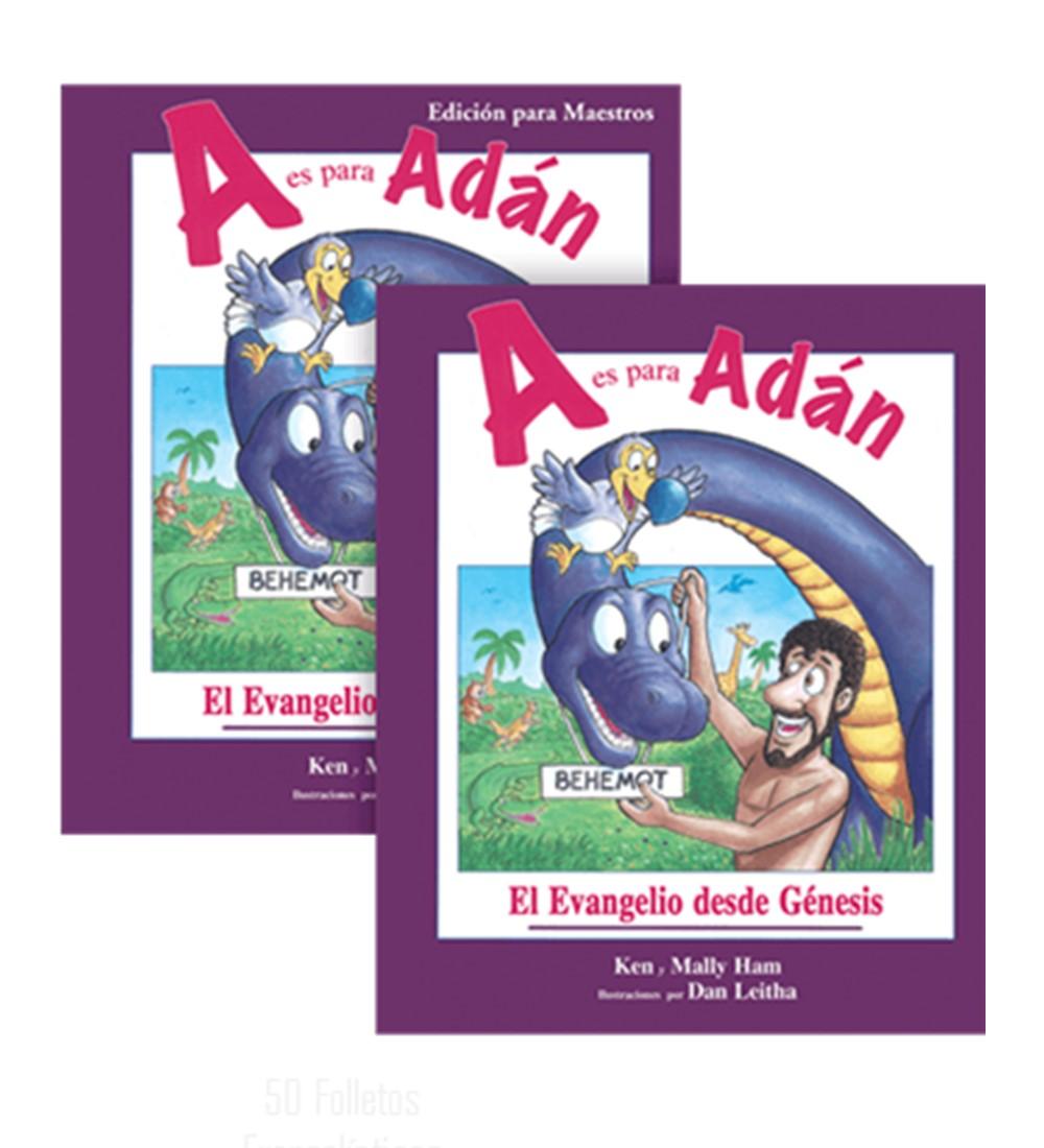 A Es Para Adán: El Evangelio Desde Génesis – Edición Para Maestro – Respuestas En Génesis